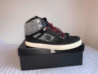 Zapatillas/bota Varón Skater Dc C/piel Casi S/uso Talle 43.5