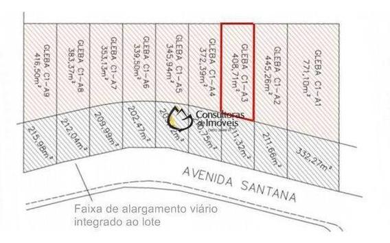 Terreno À Venda, 408 M² Por R$ 408.710 - Parque Hortolândia - Hortolândia/sp - Te0321