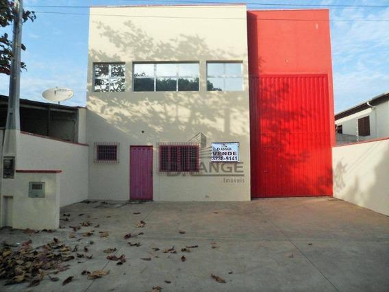 Galpão À Venda Ou Locação - Parque Jambeiro - Campinas/sp - Ga0575