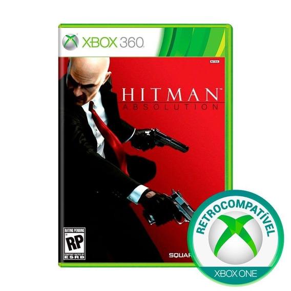 Hitman Absolution Xbox 360 Original Completo Mídia Física