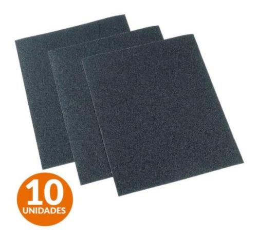 Pack X 10 Lija Tela Esmeril Polacrin Grano 36 A 150 Lijar