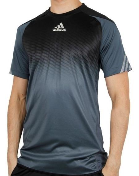 Camiseta adidas Adizero Tee Black Tennis