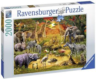 Puzzle Ravensburger 2000 Piezas Reunion En La Selva 16702