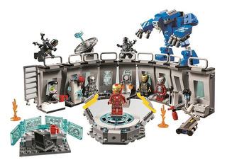 Asombroso Laboratorio Ironman Avengers Compatible Con Lego