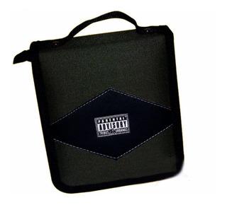 ¡ Estuche Porta-cd X40 Doble Argolla Parent Advisorydvd !!