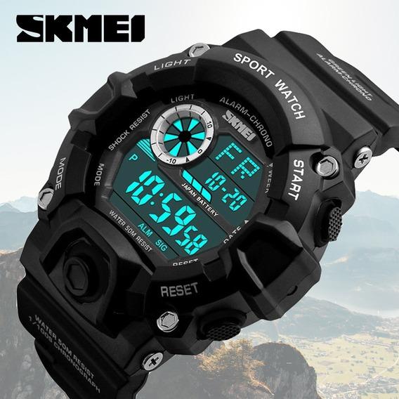 Relógio Masculino Militar Digital A Prova De Água Esportivo