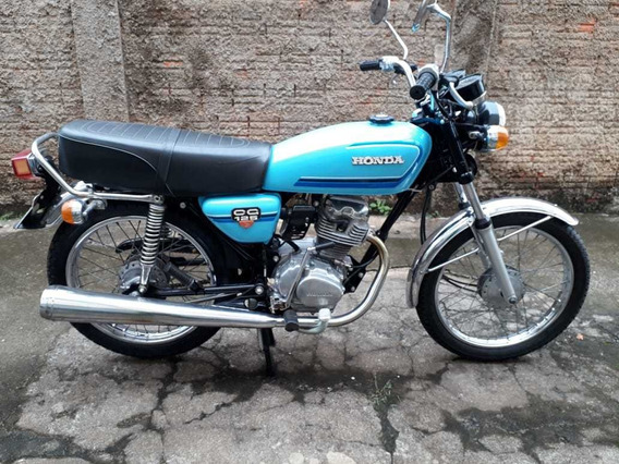 Honda Cg 125 1981 82 - Original - Antiga