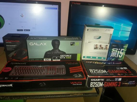 Computador Gamer Completo - Com I5 7400 E Gtx 1060 6gb