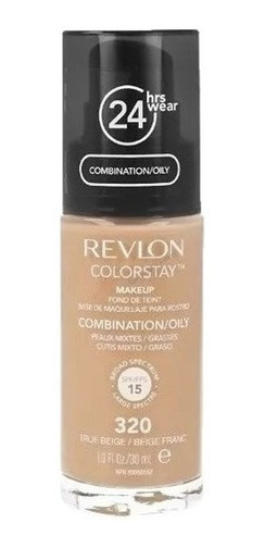 Base Líquida Colorstay Revlon Cutis Mixto/ Graso X 30 Ml