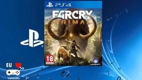Far Cry Primal - Jogo De Ps4 -aluguel 15 Dias