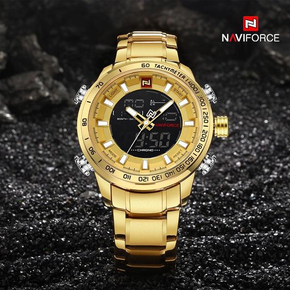 Relógio Naviforce Original Lançamento, Luxo Prova D