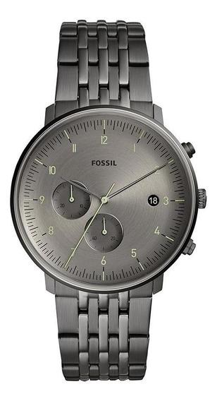 Relógio Fossil Chase Masculino Grafite Fs5490/1fn