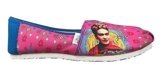 Tenis Frida Kahlo Vive Como Piensas Mujer Panam Pm006