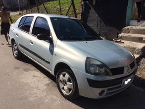 Clio 1.0 Sedan 2004 Completo E Barato