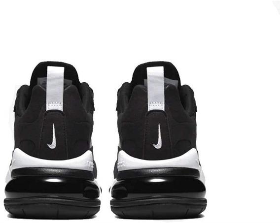 Tenis W Nike Air Max 270 React Negro,blanco, 100% Original