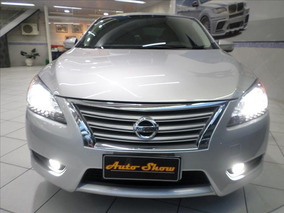 Nissan Sentra Nissan Sentra Sl 2.0 Cvt 2015 Flex Prata