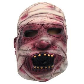 Máscara Múmia Látex Realista Fantasia Carnaval Halloween