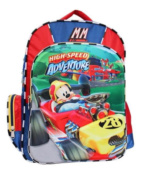 Ruz - Disney Mickey And The Roadst Mochila Primaria Escolar