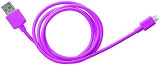 Conector Micro Usb Essentials Cable 1 Metro Rosa