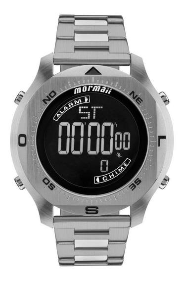 Relógio Mormaii Masculino Acqua Pro Prata - Mo11273c/1p