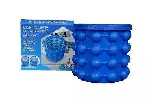 Kit 3 Unidades Magic Ice Maker Genie Forma Porta Gelos