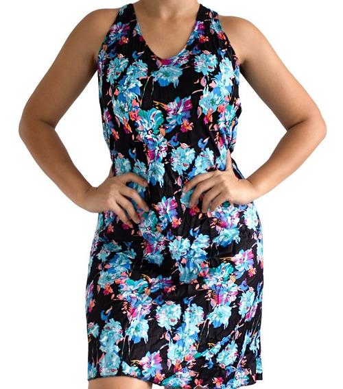 Lote 3 Vestido Estampado Feminino Floral Verão Dia-a-dia