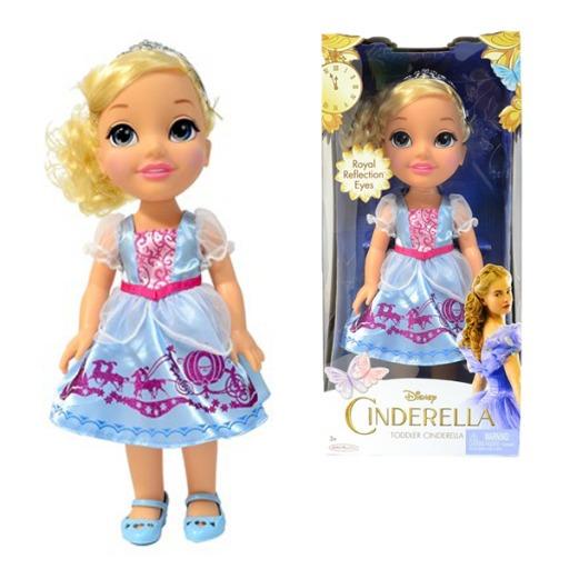 Boneca Cinderela Disney Filme 35cm Sunny.