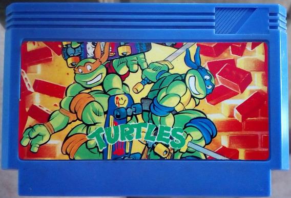 Cartucho 60 Pinos Teenage Mutant Ninja Turtles 2 Arcade Game