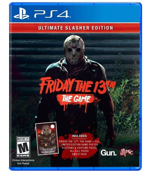 Friday The 13th Ultimate Slasher Edition Ps4 Midia Fisica