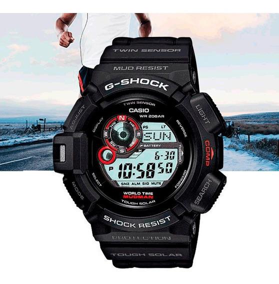 Relógio Casio G-shock Masculino Mudman G-9300-1dr Preto