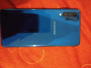 Celular Samsung A7 64 Gb Color Azul