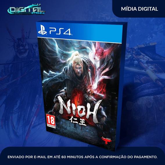 Nioh Ps4 Psn Original 1 Em Português Envio Agora! Digital
