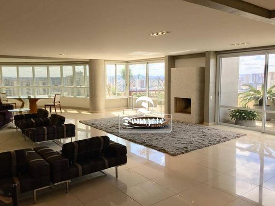 Cobertura Com 4 Dormitórios À Venda, 740 M² Por R$ 4.900.000,00 - Jardim - Santo André/sp - Co0589