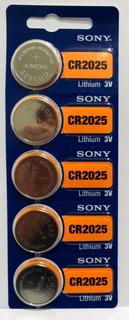Pilas Sony Murata Cr 2025 5u Originales Distribuidor Oficial