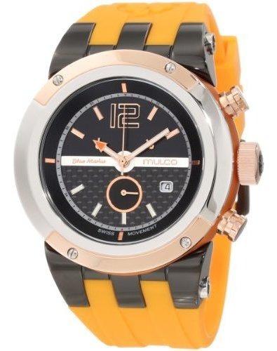 Mulco Unisex Bluemarine Glass Reloj Cronógrafo Con Movimient