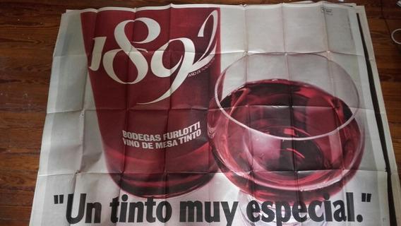 Afiche Antiguo Vino 1892 Coleccion Publicidad