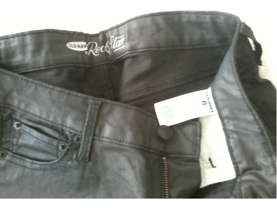 Jeans De Mujer Negro Marca Old Navy Talle 26 Nuevo !!!