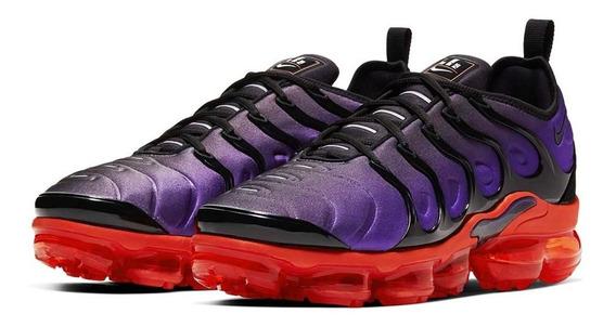 Tênis Nike Air Vapormax Plus Voltage Purple Masculino.