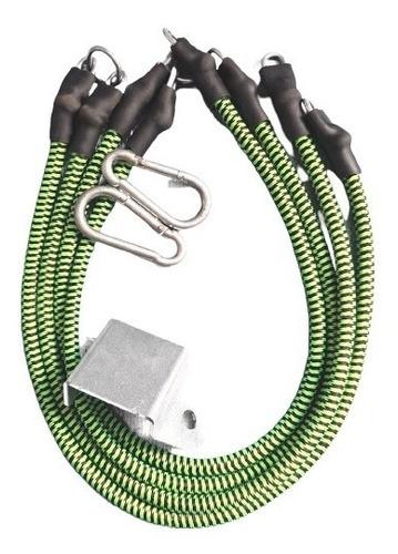 Elásticos Para Exercícios Fittogo Cord 2conj Verdes (avulso)