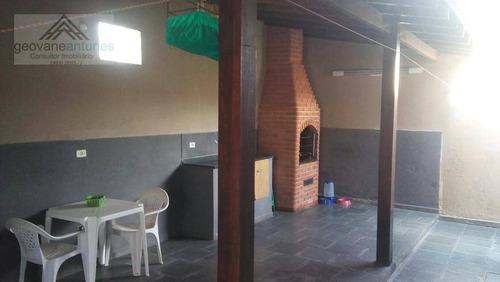 Imagem 1 de 7 de Casa Com 3 Dormitórios À Venda, 183 M² Por R$ 490.000,00 - Vila Gali - Votorantim/sp - Ca0391