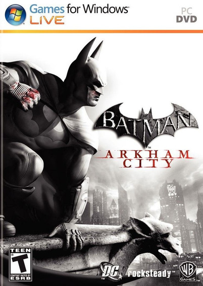 Batman Arkham City Goty Pc/notebook Original Frete Gratis!
