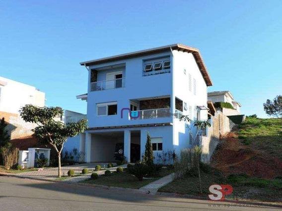 Sobrado Com 3 Dormitórios À Venda, 373 M² Por R$ 2.230.000 - Paisagem Renoir - Cotia/sp - So1157