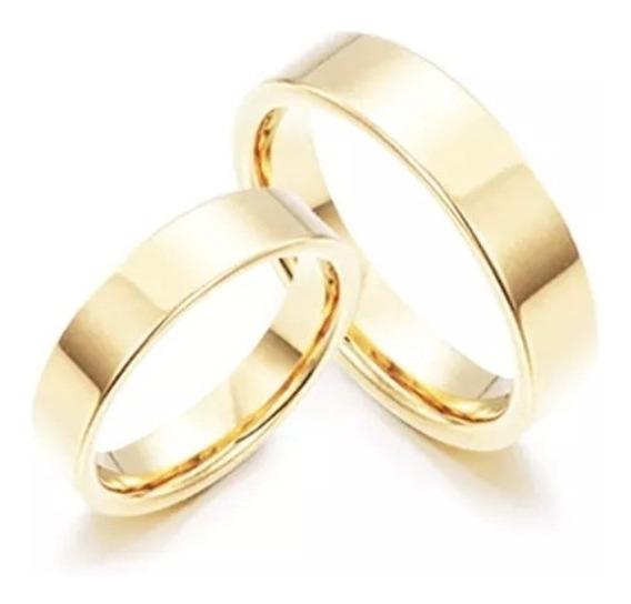Aliança Casamento Ouro 18kilates