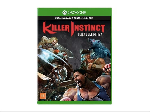 Game Xbox One Killer Instinct - Ed Definitiva Mídia Física