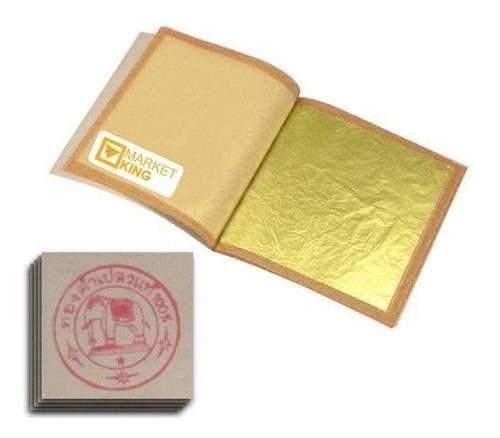 Hojas Comestibles De La Hoja De Oro 30pc- Envío Gratis