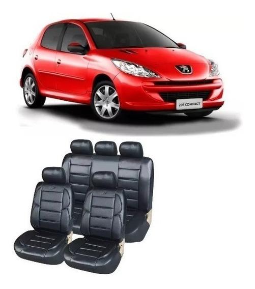 Funda Asiento Auto Cuerina Super Riñonera Acolchada 206 207