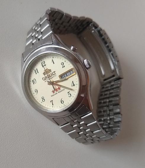 Relógio Masculino Orient 3 Estrelas Ea 469wa2-60 Ca