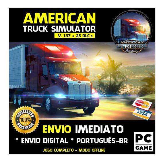 American Truck Simulator 1.37 + 25 Dlc