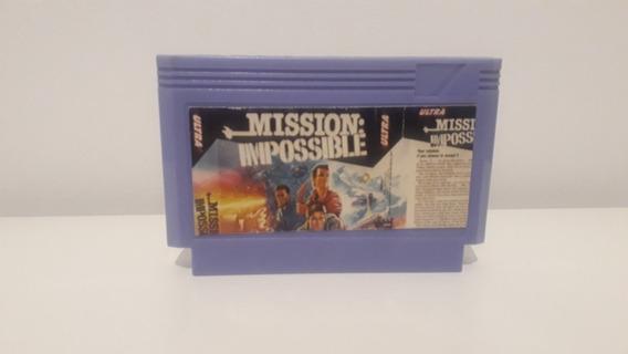 Jogo Missão Impossível Para Nes E Famicom