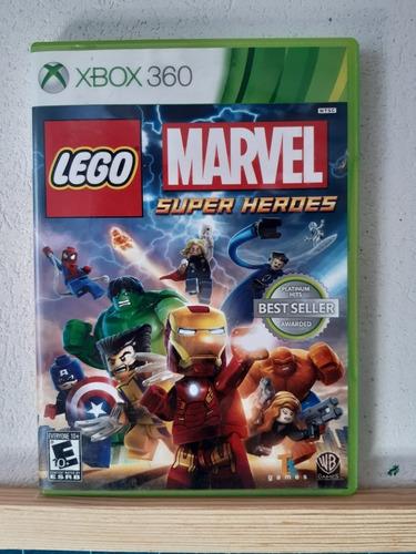 Lego Marvel Super Heroes Xbox 360 Original